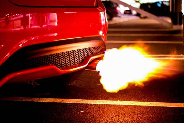 What causes engine backfire